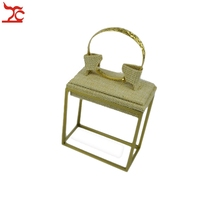 Copper Color Stainless Steel Metal Display Jewelry Stand Retail Bangle Riser