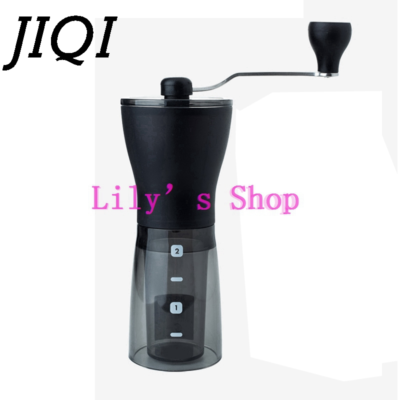 High quality household Portable coffee grinding machine Ceramic Burr Mini powder Mill Slim Manual Hand Coffee Grinder pulverizer high quality household manual hand dumpling maker mini press dough jiaozi momo making machine
