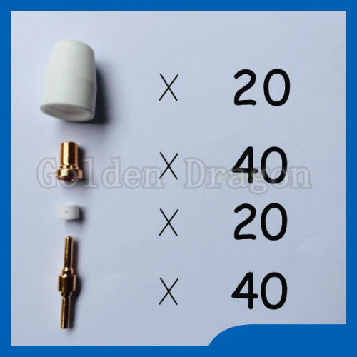 Quality assurance plasma cutting tips kit Welding Accessories tig Reasonable price Fit Cut40 50D CT312  цены