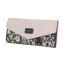 2017 Famous Brand Designer Luxury Long Print Wallet Women Wallets Female Bag Ladies Money Coin Bags