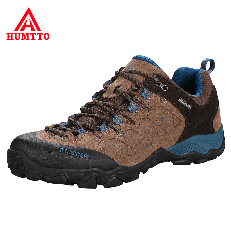 Sneaker Mountain-Shoes Trekking Tourism Non-Slip Splashproof Outdoor Climbing Hunting title=