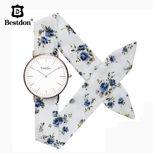 Bestdon 5.5mm Ultra Thin Women Watches Imported Quartz Clock Paris Fashion Ladies Luxury Brand Cherry Blossom WristWatch Female