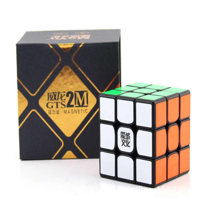Moyu WeiLong GTS2 3X3X3 Magnétique Magic Speed Cube Positionnement Système Puzzle WCA Championnat 3x3 GTS2M Version II GTS