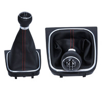 Manual Gear Car Styling Accessories Automobiles Guided Ball Bumper Series FOR Volkswagen VW Golf 6 Red