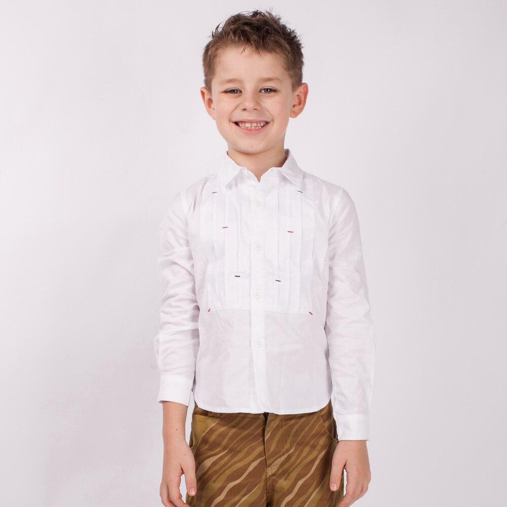 Рубашки для мальчиков, сплошное с длинным рукавом, рубашка, хлопковые рубашки для мальчиков, повседневные Лоскутные вечерние рубашки с отло...