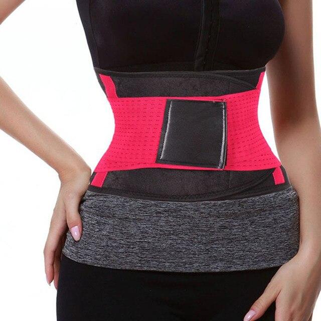 Women Posture Corrector Belt Hot Slimming Body Shaper Waist Trainer Trimmer Fitness Corset Tummy Control Shapewear Stomach 5