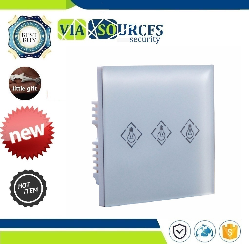 HA-VGW Alarm System,Touch Screen Wireless Electrical Light Switch Intelligent power Switch Compatible with ST-VGT ST-IIIBHA-VGW Alarm System,Touch Screen Wireless Electrical Light Switch Intelligent power Switch Compatible with ST-VGT ST-IIIB