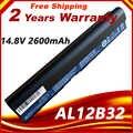 14.8 V Pil için Acer Aspire One 725 AO725 756 OA756 4ICR17/65AL12X32 AL12A31 AL12B31 AL12B32