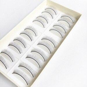 Image 5 - 10Pair Makeup Training Lashes for Beginner False Eyelash Extension Practice Mink Lashes Full Strip Eyelashes Exercise Eye Beauty