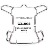For BMW G310R G310GS 2017 On Engine Bumper Cover Tank protector Upper Carsh Bars Guard For BMW G310 GS G 310GS 2017 On