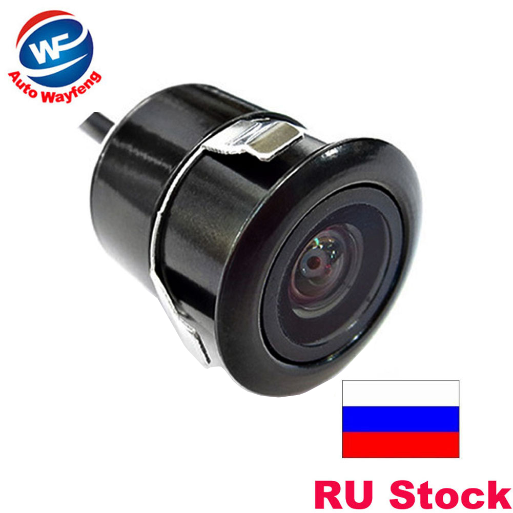 Super Mini 18.5MM Car Camera Rear View parking back Camera reversing Camera HD CCD waterproof free shipping