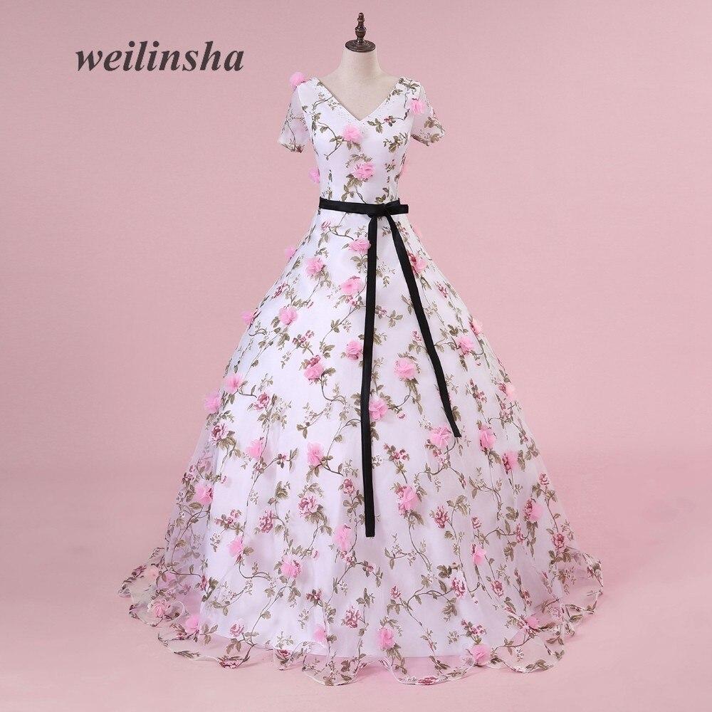 Tienda Online Más nuevo color nupcial fotografía Vestidos de novia ...