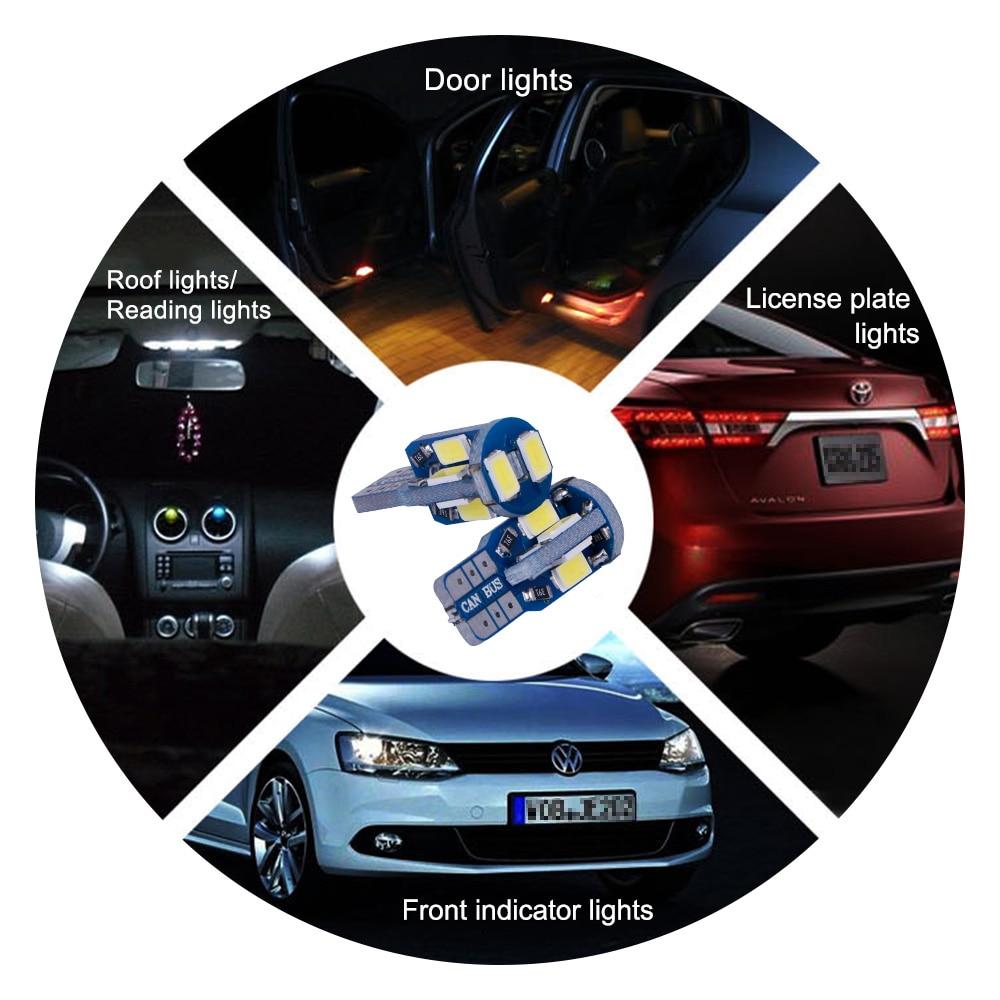 TC-X Canbus W5W T10 Señal LED Luces traseras de la lámpara para - Luces del coche - foto 2