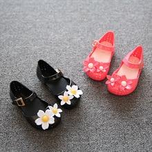 Лето Желе Обувь Детская Дети Детские Сандалии 2017 Новая Мода Цветок Девочки Пляжные Сандалии для Подарок На День Рождения(China (Mainland))