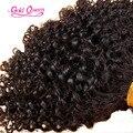 Hot mongol bizarro cabelo encaracolado humano trança do cabelo em massa 8 - 26 polegada 100 g/pçs granel extensões de cabelo humano 1 pçs/set volume do cabelo humano