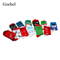 Goebel Woman Cartoon Cotton Socks Comfortable Cute Women Tube Socks Breathable Fashion Female Winter Socks 5pairs/lot