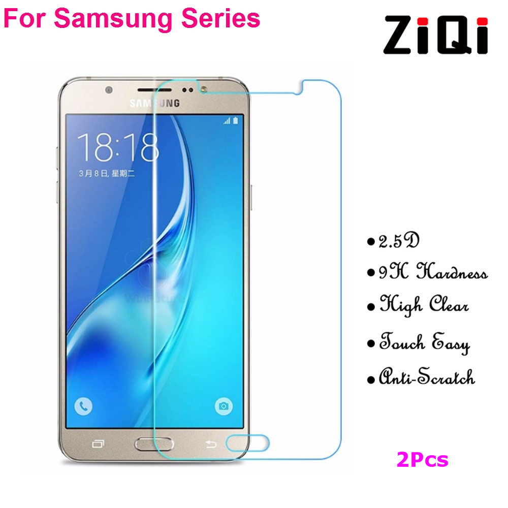 2 PCS Tempered Glass Film For Samsung Galaxy A3 A5 A7 A9 2016 2017 Screen Protector Protective Film A310F A510F A710F A910F