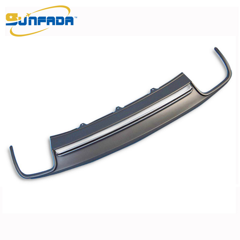 Audi Replacement Parts: High Quality PU Car Rear Bumper Diffuser Spoiler Upgrade