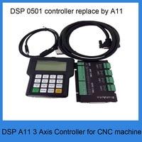 RichAuto A11 DSP CNC controller 3 axis controller for cnc router better than DSP 0501 controller