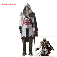 VEVEFHAUNG Assassin's Creed II Cosplay Costume Assassins Creed Ezio Costume Kids Men clothes sets