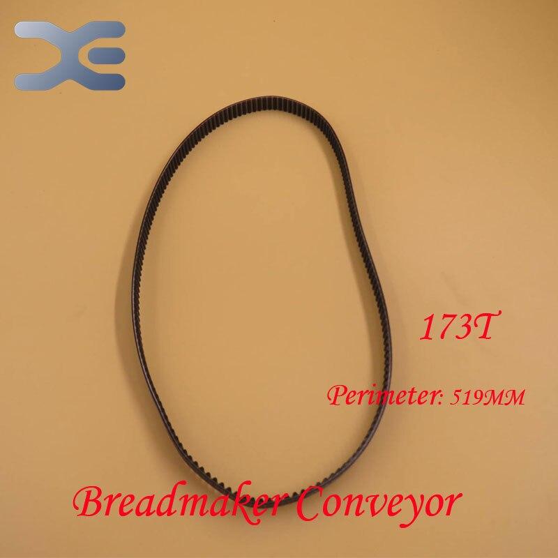 Kitchen Appliance Parts Breadmaker Conveyor Belts 173T Perimeter 519mm Bread Maker Parts