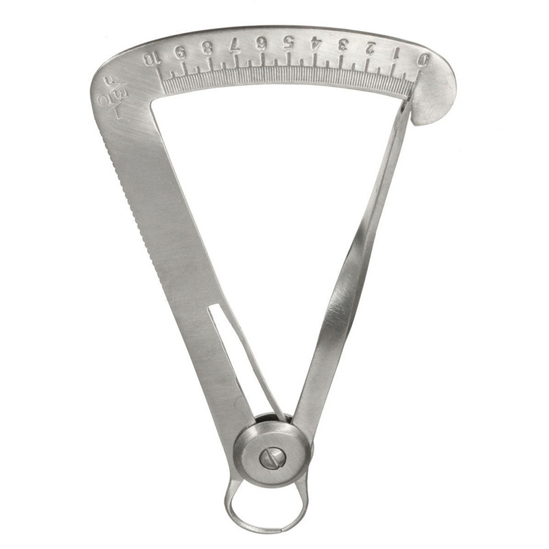 Stainless Steel Dentist Equipment Sliver Dental Measurement Ruler Laboratory Measure Calipers New Arrival