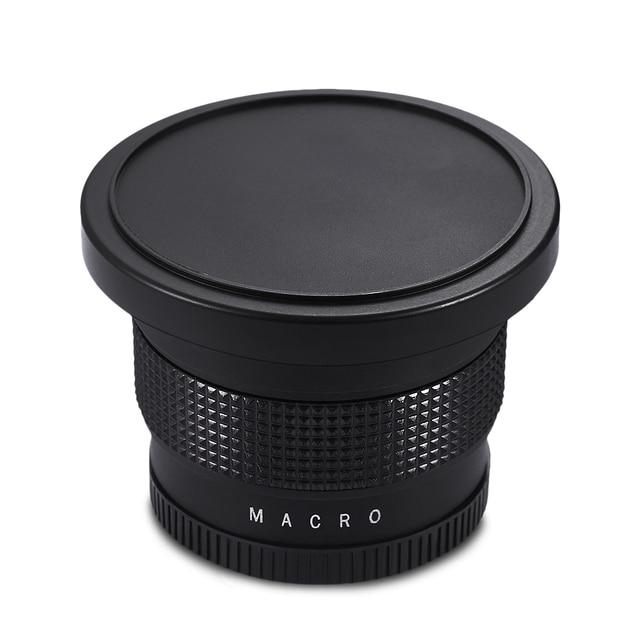 Lightdow 58mm 0.35X Fish Eye Super Wide Angle Fisheye Lens for Canon Nikon Sony DSLR 10