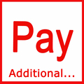 Additinall Pay Extra Fee