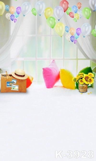 LIFE MAGIC BOX Fondos Estudio Fotografico fundo Fotografico Vinil cloth backdrops 220Cm * 150Cm white Windows Pillows Child