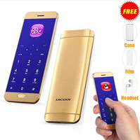 Ulcool V26 Ultrathin credit card mobile phone touch display metal body bluetooth 2.0 dialer mp3 FM dual SIM mini cellphone