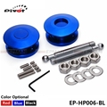 PIVOT  Universal Push Button Billet Hood Pins Lock Clip Kit Car Quick Latch New EP-HP006
