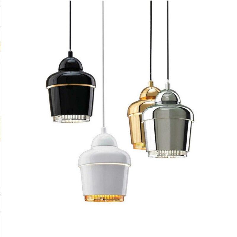 Здесь можно купить   Post-modern Artek Metal Plated 4 Colors Led E27 Pendant Light For Dining Room Bar Bedside Deco Dia 18cm 80-265v 1208 Свет и освещение