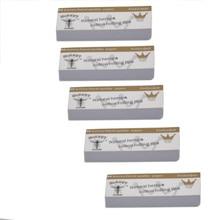 Лучшие продажи продуктов 5 x Hornet рулонные бумажные светофильтры 50 листьев 60*21 мм натуральный белый нерафинированный поддержка дропшиппинг