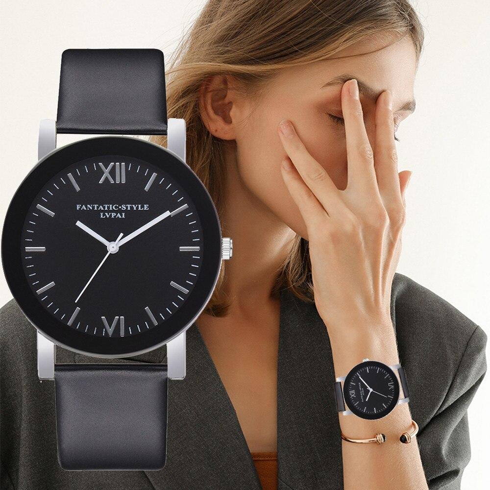 LVPAI Watches Women Quartz Wristwatch Clock Ladies Dress Gift Watches Design Creative Woman Watch Ladies Wristwatches Gift