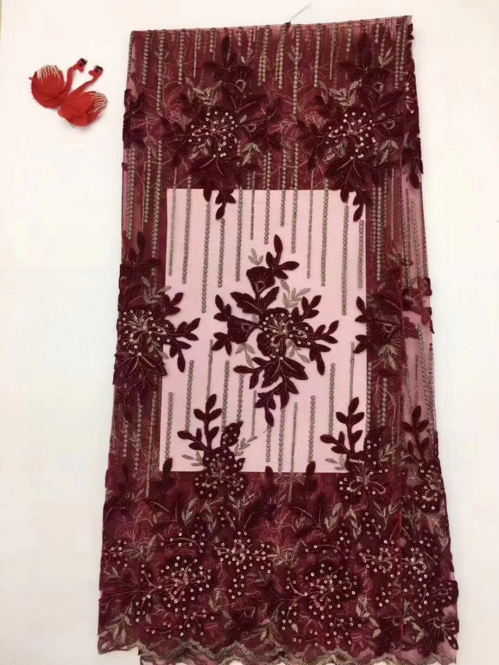 African velvet Lace Fabric 2019 High Quality Lace Nigerian Lace Fabric With Sequin aso ebi Embroidery Tulle French Lace Women African velvet Lace Fabric 2019 High Quality Lace Nigerian Lace Fabric With Sequin aso ebi Embroidery Tulle French Lace Women