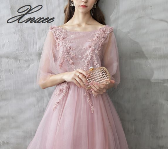Xnxee Dress female 2019 new banquet dignified atmosphere slim dress Платье