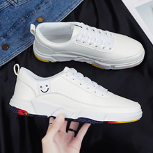 Men Vulcanize Male Shoes Street Trend Sneakers Spring Autumn Flat Hard-Wearing Breathable
