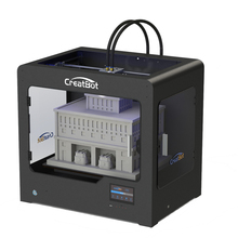 Free shipping! Max Printing 400*300*300 mm Creatbot DE03 three head 3D Printer DIY KIT with 3kg filament & heated platform metal