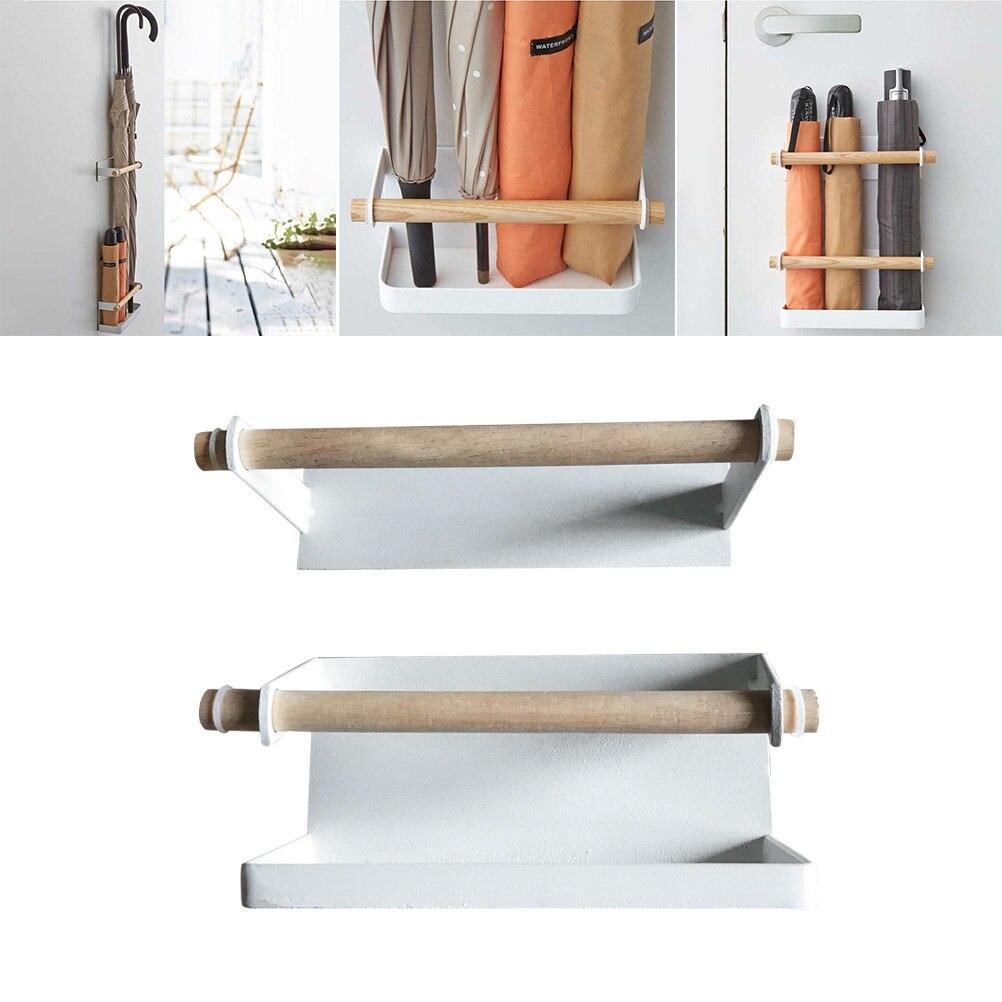 Porte-parapluie rangement pratique fer Durable porte-parapluie support pour porte-parapluie support de rangement maison organisateur pour bureau