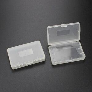 Image 2 - Прозрачный пластиковый чехол для картриджей с компьютерной игрой TingDong, 20 шт., защитный футляр для Nintendo GBA SP Game Boy GameBoy GBA