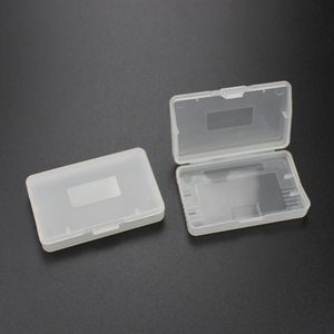 Image 2 - TingDong 20 ピースクリアプラスチックゲームカートリッジケース収納ボックスプロテクターホルダーニンテンドー GBA SP ゲームボーイゲームボーイ GBA