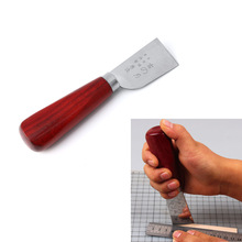 Leather Craft Skiving Sharp Handle Knife Leathercraft Handwork DIY Tool NewBrand New