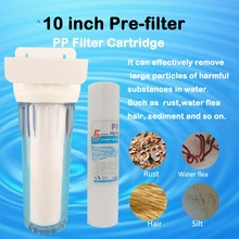 Clear 10 inch single Lever water filter 1/2connection water purifier transparent 1 stage household pre-filter with PPF direct selling promotion terminal purification clear ce water filters one stage pre filter transparent desktop carbon filter
