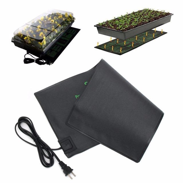 Mayitr Seedling Heat Mat Plant Seed Germination Propagation Clone Starter Pad 52X24cm