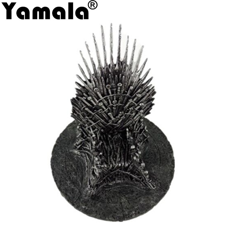 [Yamala] The Iron Throne 17cm Game Of Thrones A Song Of Ice And Fire Figures Action & Toy Figures One Piece Action Figure Gift a song of ice and fire