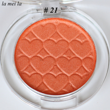 2017 Hot Sale New Pumpkin color Eye Shadow Super Shock Durable Waterproof Single Shimmer makeup #21