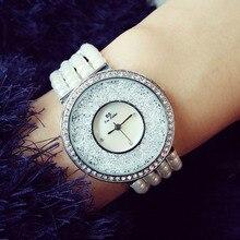 Marca de lujo De Relojes de Cuarzo-reloj de Moda de La Perla banda Vestido de Relojes de pulsera de Señora Mujer relojes mujer relogio montre femme