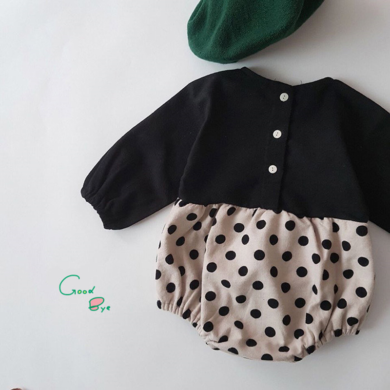 Korean style <font><b>Baby</b></font> Girls Boys Rompers Kids Overalls 2019 Autumn Toddler Casual Fashion <font><b>Baby</b></font> <font><b>Clothing</b></font> Toddler <font><b>Baby</b></font> Girl Rompers image