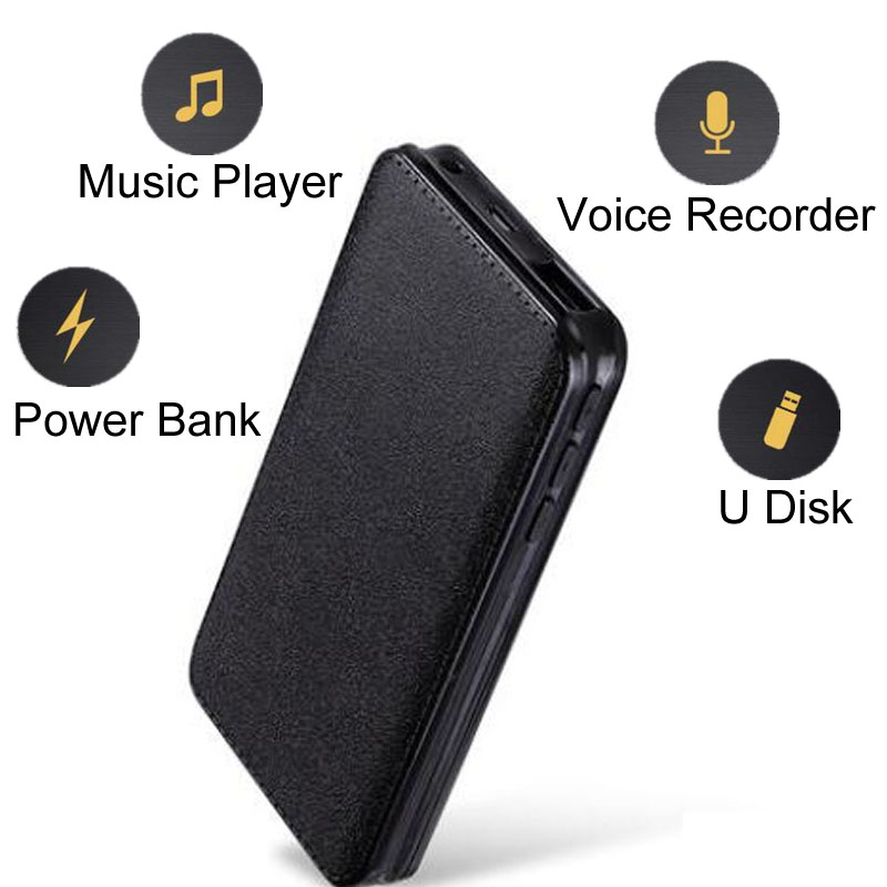 Magnetic Password Protect Voice Activated Recorder Professional Multi Function Digital Audio Sound Recording Device
