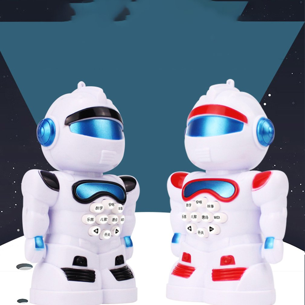 Early Education Robot Intelligent Early Education Music Story Machine Children'S Song With Ligh